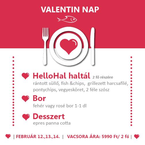 HelloHal Valentin nap(ok)